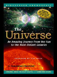 The Universe DVD - An Amazing Journey from the Sun to the Most Distant Galaxies